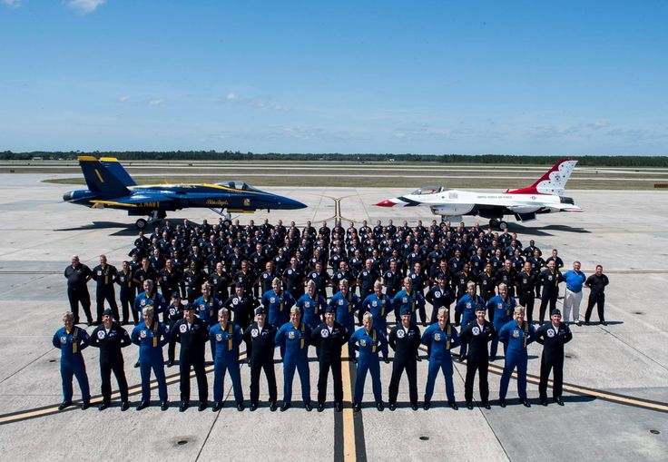 After many years The US Air Force Thunderbirds and US NAVY Blue Angels joined again together for a few days reunion.On Monday 24 April, whole Thunderbirds squadron arrived at Blue Angels home base at Pensacola Naval Station for a joint exercises including a pilot exchange, where pilots ride along in ...