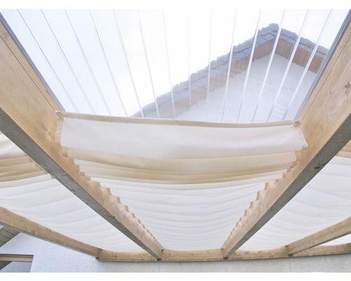 Seilspann-Sonnensegel elfenbein 220x96 cm bei HORNBACH kaufen