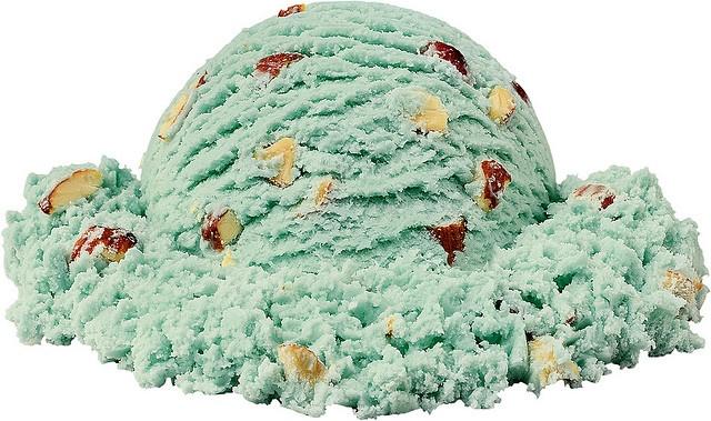 Blue Bunny® Pistachio Almond Ice Cream Scoop by Blue Bunny® Ice Cream, via Flickr