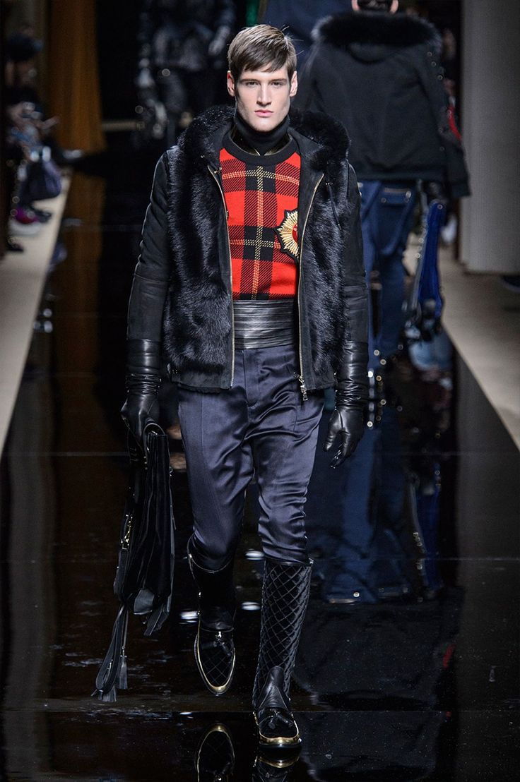 Olivier Rousteing presented his Fall/Winter 2016 ...