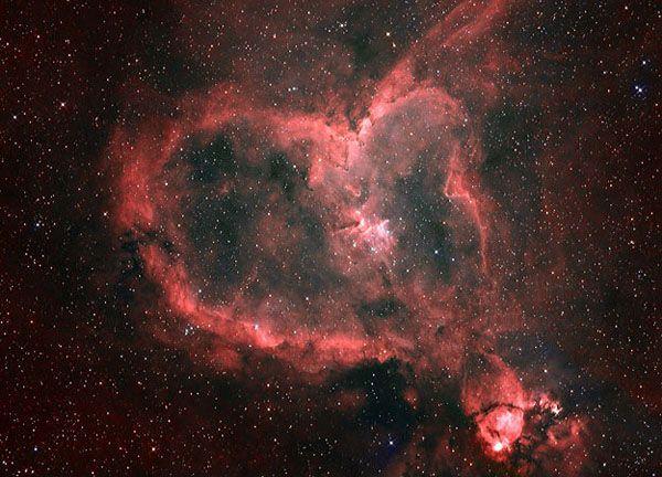 heart nebula: Mists, Have A Heart Nebula, Nature S Hearts, Beautiful Places, Heart Universe, Hearts ️Of, Awesome Nature, Awesome Hearts, Nature Hearts