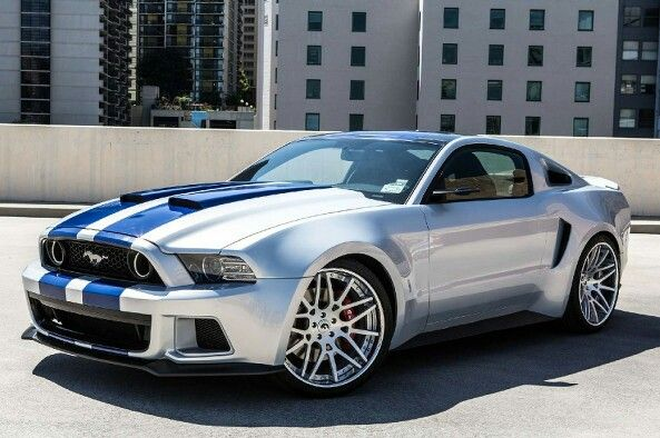 The 2014 Mustang Shelby GT500 is by far my favorite because of the custom hood, wheels, grille and interior. Best movie car ever!