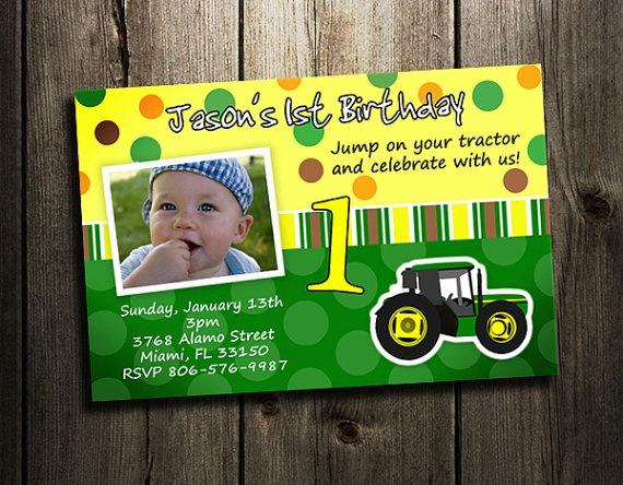 27 best John Deere Tractor Printables images – John Deere Printable Birthday Invitations