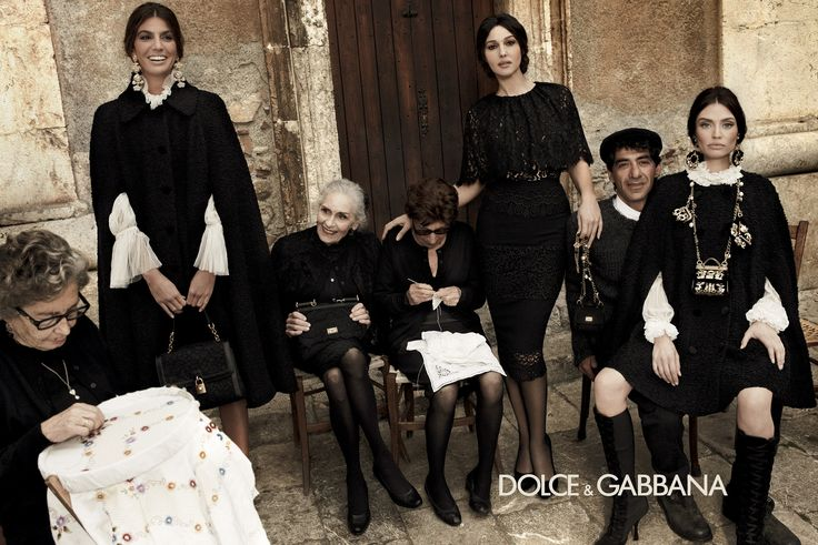 Dolce & Gabbana Fall/Winter 2013 Woman campaign; Giampaolo Sgura photography.