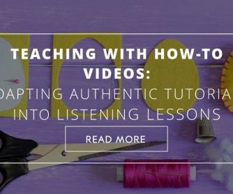 There comes a time in any ESL class when the teacher realizes students are bored with the listening material offered with the coursebook. So, the ESL teacher decides to give the class some e