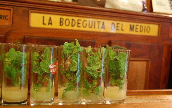 Mojito di Bodeguita a Cuba