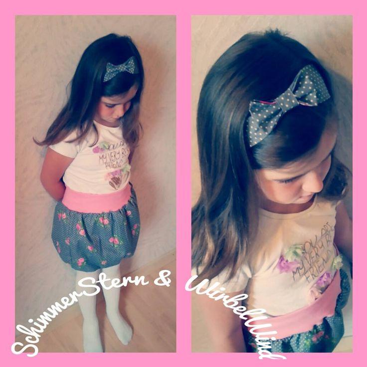 Haarband mit Schleife nach meinem Gratis-Schnittmuster: http://www.kreativlaborberlin.de/naehanleitungen-schnittmuster/haarband-mit-schleife-in-5-groessen-baby-erwachsene/, genäht von SchimmerStern & WirbelWind