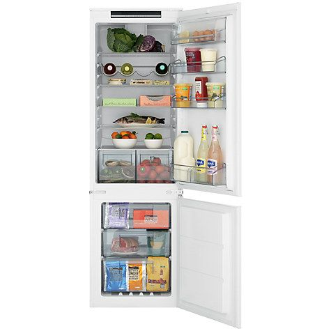Buy John Lewis JLBIFF1807 Integrated Fridge Freezer, A+ Energy Rating, 54cm Wide Online at johnlewis.com