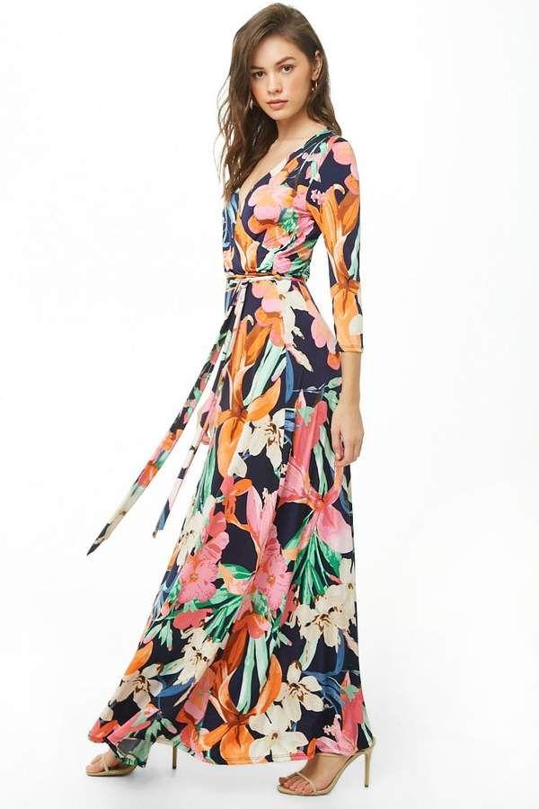 e1a87a53ef8 Forever 21 Floral Print Maxi Dress