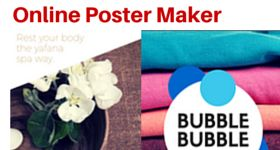13 Free Online Poster Makers :http://listoffreeware.com/list-of-free-online-poster-makers/