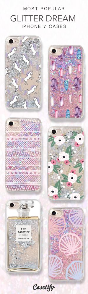 Most Popular Glitter Dream iPhone 7 Cases here > https://www.casetify.com/collections/iphone-7-glitter-cases#/