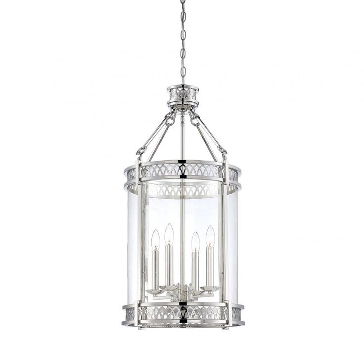 Polished Nickel Foyer Hall Pendant  1JGW1 | Dulles Electric Supply Corp.  sc 1 st  Pinterest & 53 best Foyer Chandeliers images on Pinterest | Chandeliers Foyer ... azcodes.com
