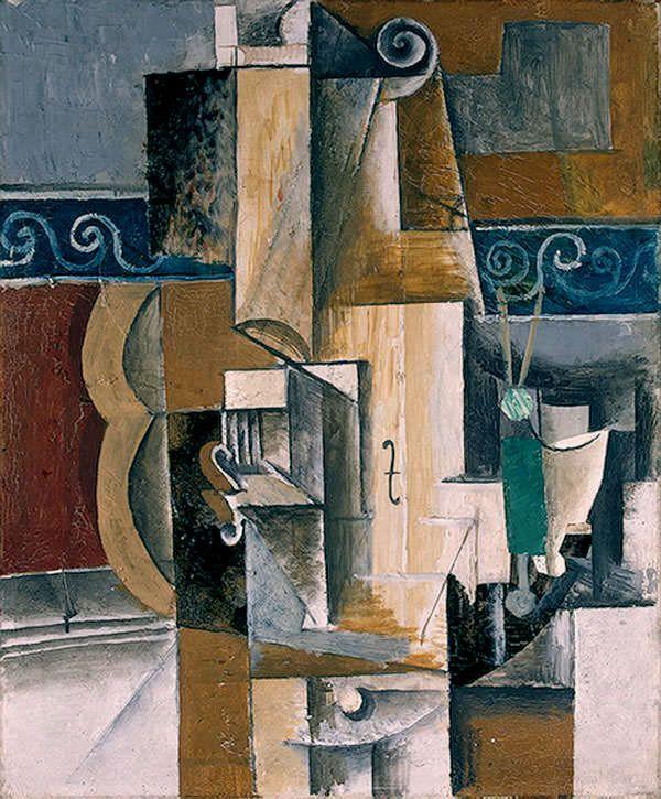 Пабло Пикассо «Гитара и скрипка»
