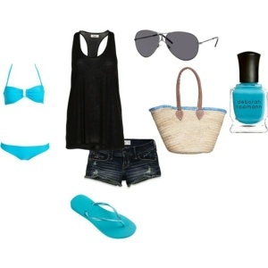 beach, created by xokrisxo33 on Polyvore by nadia