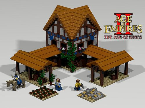 Age of Empires 2 LEGO Set