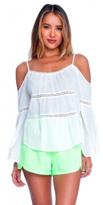 BohoPink - Lush Follow The Leader Off White Cold Shoulder Top, $49.00 (http://www.bohopink.com/lush-follow-the-leader-off-white-cold-shoulder-top/)