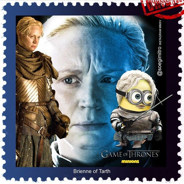 Game Of Thrones Minions ~ Brienne Of Tarth