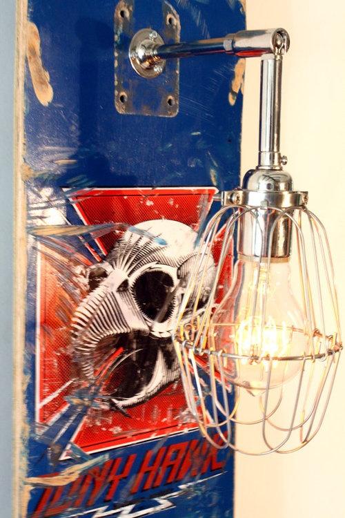 Skateboard Lamps 39 best skateboard recycling ** diy ** images on pinterest