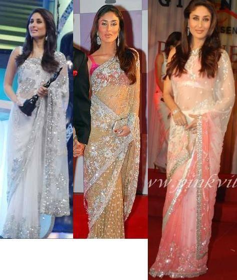 Kareena Kapoor's Manish Malhotra Sarees | PINKVILLA