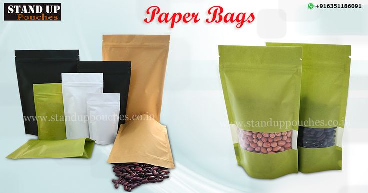 #paperbags may be laminated with metalized or aluminum foil layers to give high barrier against oxygen, many varieties of products #snakckfood #coffee #nuts #food #petfood etc...  more information whatsapp. + 91 6351186091