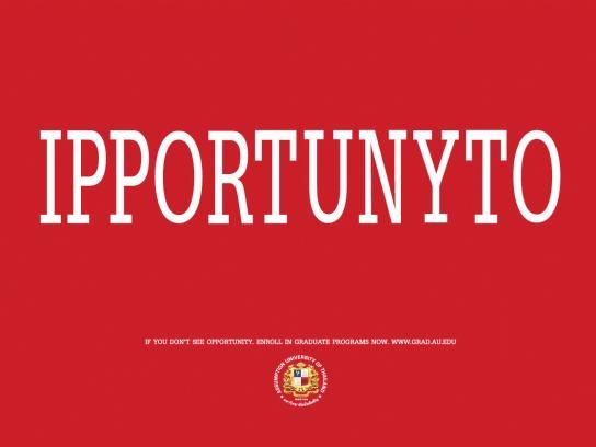 Assumption University:  Opportunity