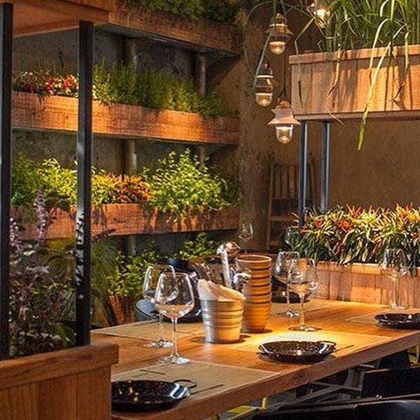 Segev Kitchen Garden Restaurant Has Taken The Concept Of Biophilia To The Next Level The Spa Bakery Design Interior Bakery Interior Commercial Interior Design