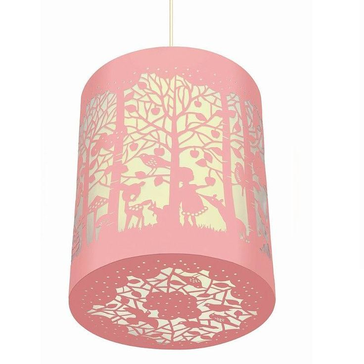 in the forest paper cut lantern by little baby company | notonthehighstreet.com