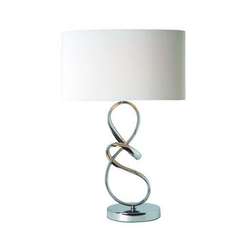Gen-Lite Table Lamp (104925CH) - Chrome/ White - Online Only  #BBYSciencessociales