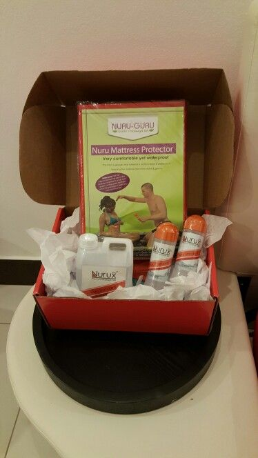 There's nothing wrong with having a little bedside manners... Nuru massage kit comes with Nuru sheet our Nurux gel