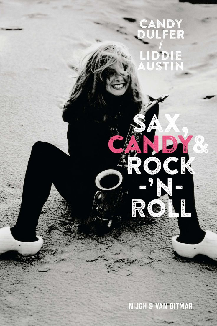 Candy Dulfer - Book cover