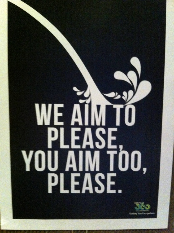 Bathroom Signs We Aim To Please 162 best free printables images on pinterest