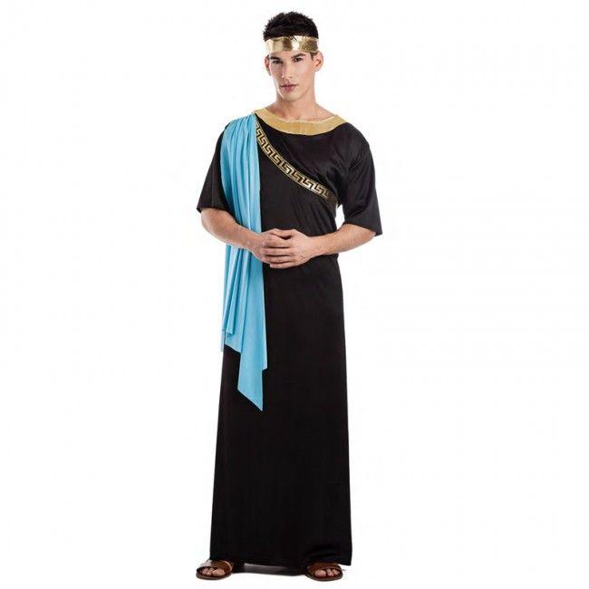 Disfraz de Griego negro para hombre #disfraces #carnaval #novedades2017