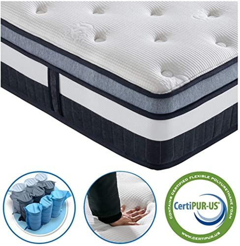 Buy Queen Mattress Vesgantti 11 Inch Innerspring Multilayer