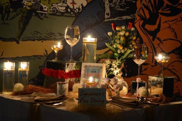 Romantic Dinner Nov 7, 2015 (2/2)