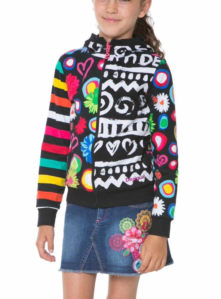 61S34D1_2000 Desigual Girl Sweater Camus
