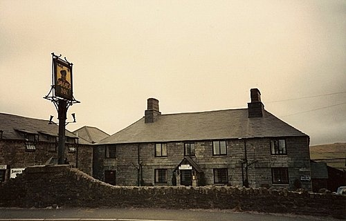 The famous Jamaica Inn, Cornwall built in 1750 as a coaching inn, it is reputed to be haunted by a highway man, a murdered smuggler, a mother and child and horses.