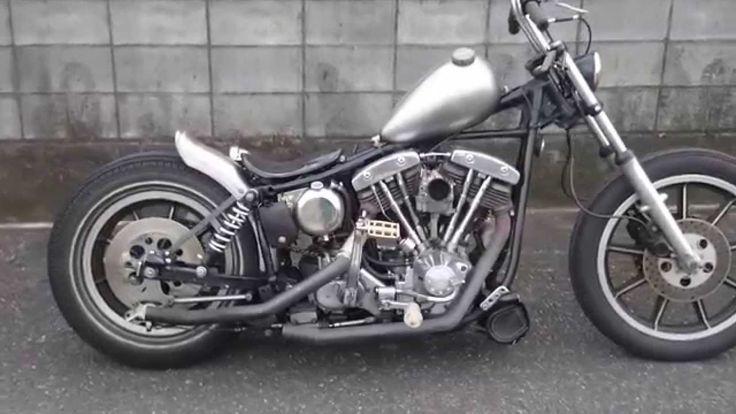 Harley Davidson shovel chopper ハーレー ショベルヘッド チョッパー