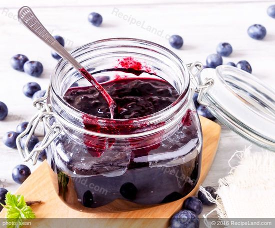 Amy's Blueberry Rhubarb Jam: Amy's Blueberry Rhubarb Jam recipe