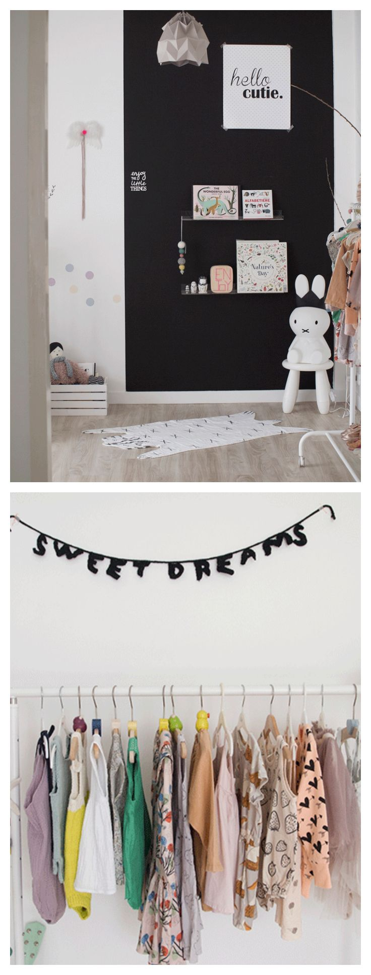 """Achildren's rooms that convey personality and style, kid's bedrooms with well-chosen pieces that avoid the """"catalog look"""""""