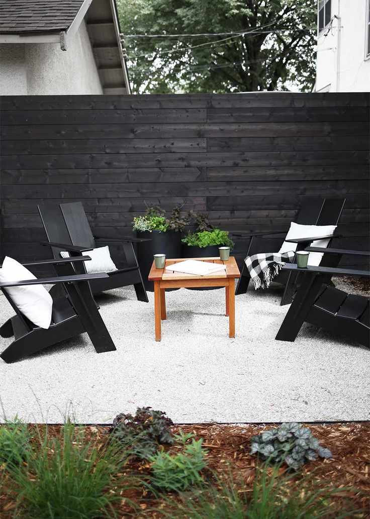 Best Modern Backyard Design Ideas On Pinterest Backyards - Modern backyard design ideas
