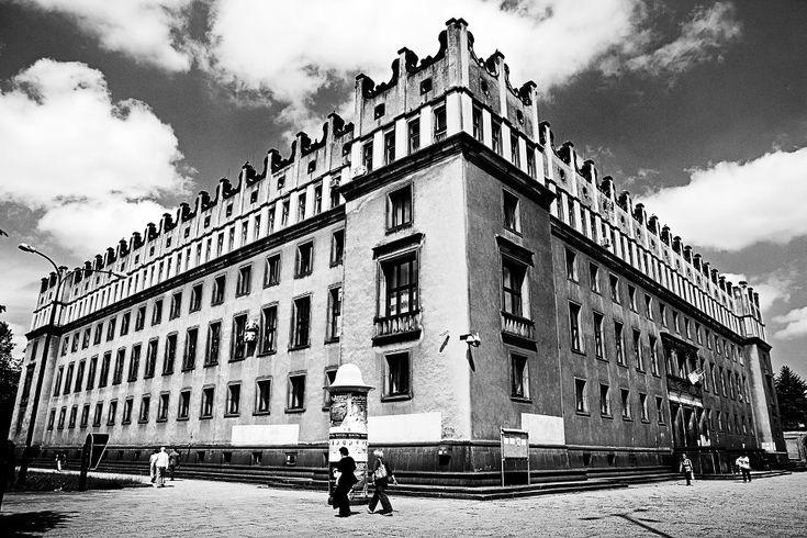 Nowa Huta, Kraków, Poland.  By Julia Ajanko. #stalinist #architecture