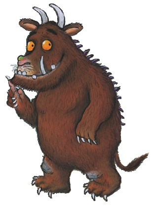 Bobby is just rediscovering the Gruffalo now as a reader instead of a listener. It's magical all over again