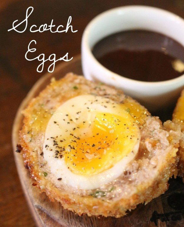 Heart-stopping Scotch eggs. | 23 Classic British Dishes To Keep You Warm Through The Long, Dark Winter