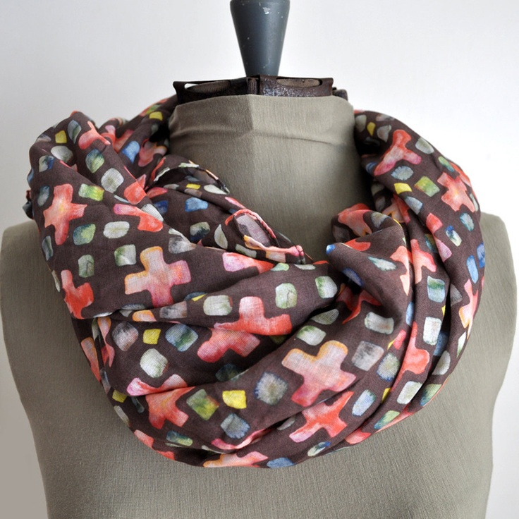 Like! Kelly Massey's Painted Scarves