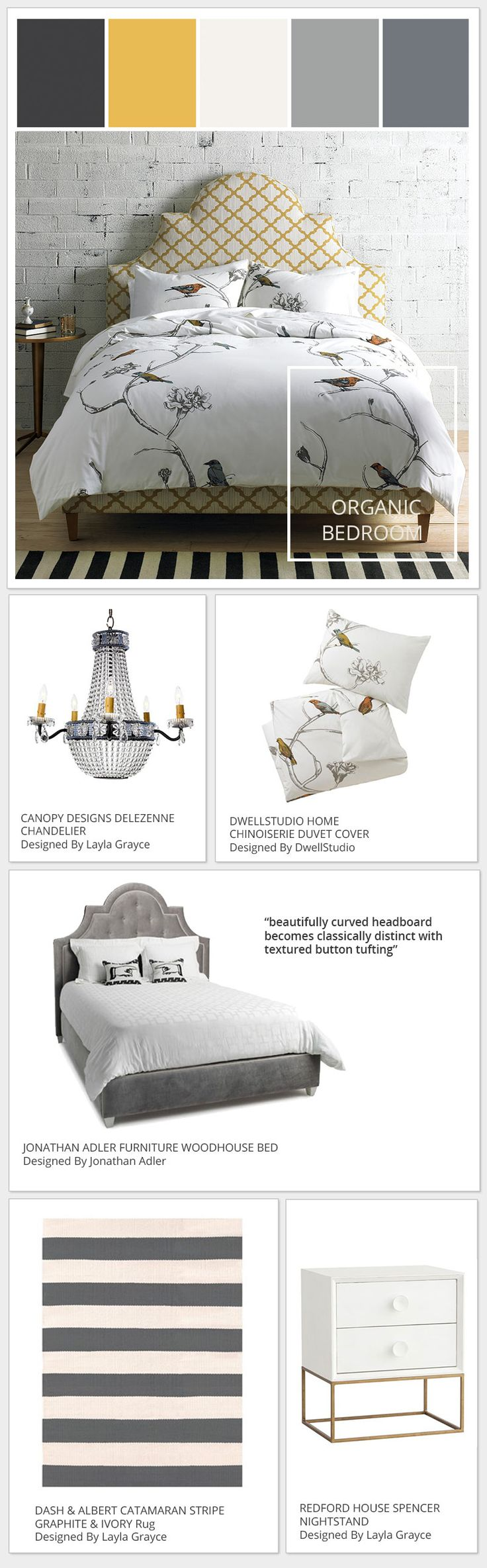 Organic Bedroom Furniture 17 Best Images About Dwellstudio Color Inspiration Stylyze On