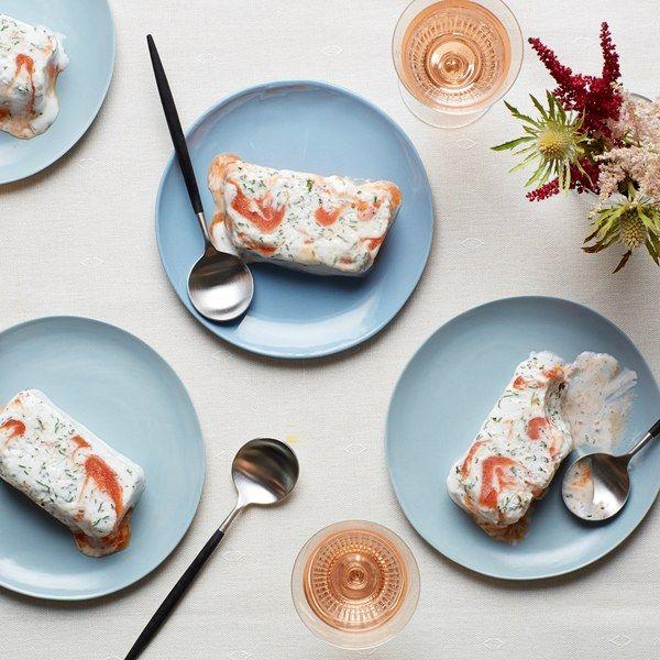 Yogurt-Peach Semifreddo recipe   Epicurious.com