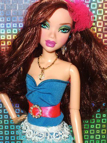 My Scene Juicy Bling Chelsea Barbie Doll Ebay With
