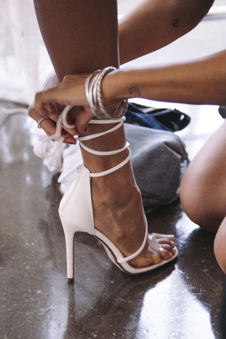 Bridal Shoes / NY Bridal Week / Fall 2017  / Photo: The LANE