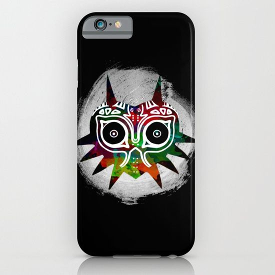 link - zelda mask iPhone & iPod Case https://society6.com/product/link-zelda-mask_iphone-case?curator=2tanduk