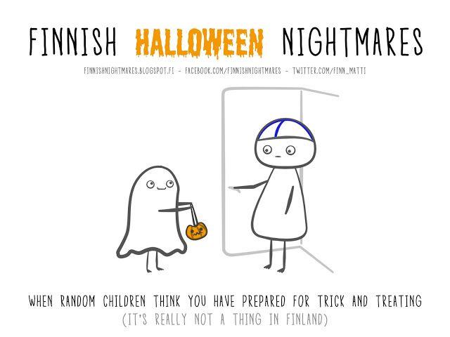 Finnish Nightmares: Spooky Nightmares!